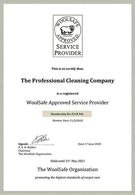 Service Provider certificate 2020